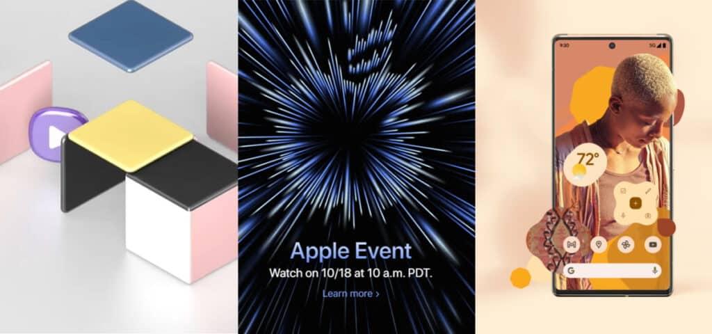 Apple Google Samsung เผยวันเปิดตัวผลิตภัณฑ์ใหม่